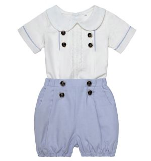 "Aurora Royal Boys Luxury "" William "" 2Pcs Linen Outfit"