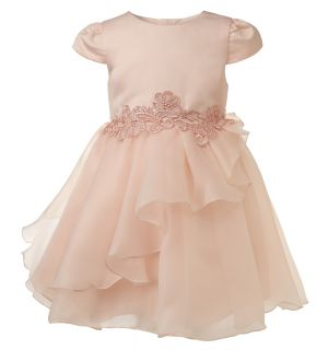 """Aurora Royal Peach Tulle """" Daphne """" Special Occasion Dress"""