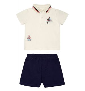 "PACK OF 4 ""SUMMER BREEZE"" Baby Boys Shorts Set"