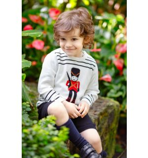 "PACK OF 4 ""GRENADIER"" Knitted Shorts & Jumper Set"