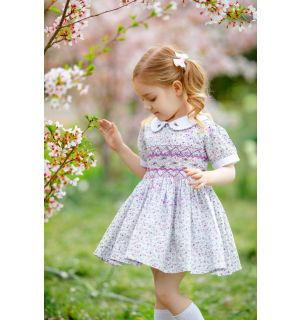 """DULCIE"" Hand Smocked Dress Set"