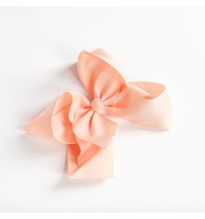 Aurora Royal PACK OF 4 Peach Bow Hairclips