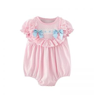 """PACK OF 5 """"MARIELLE"""" Aurora Royal Bow Romper"""