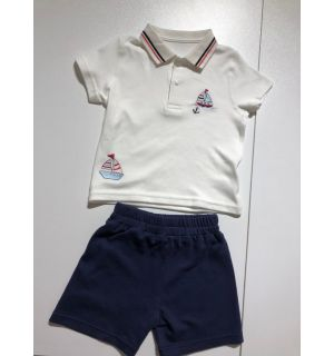 """PACK OF 4 """"SUMMER BREEZE"""" Baby Boys Shorts Set"""