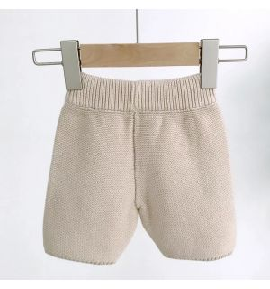 PACK OF 4  Camel Knit Baby Boys Shorts