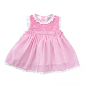 "Aurora Royal Pink ""Amazing Grace"" Smocked Dress"