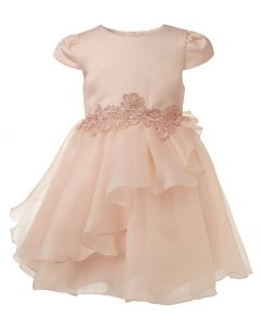 "Aurora Royal Peach Tulle "" Daphne "" Special Occasion Dress"