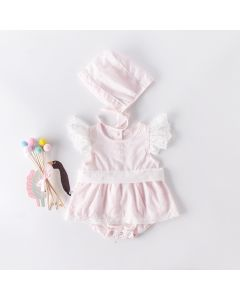 "Aurora Royal "" Piccola "" Pink Shortie Set"