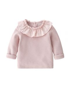 "Aurora Royal Blush ""Fleecette"" Winter Baby Top"