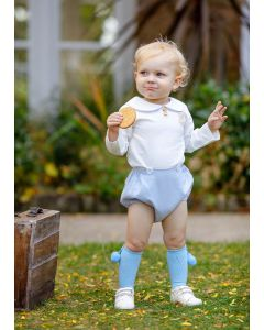 """Aurora Royal Boys Luxury Linen """" Ted """" 2 Pcs Outfit"""