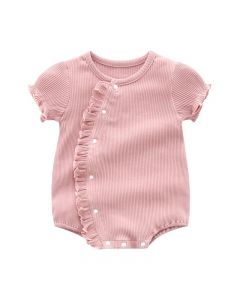 """PACK OF 4 Baby Girls """"Helen"""" Blush Ribbed Cotton Shortie.SIZES: 0-3M,3-6M,6-9M,9-12M"""