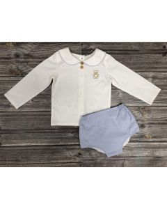 "Aurora Royal Boys Luxury Linen "" Ted "" 2 Pcs Outfit"